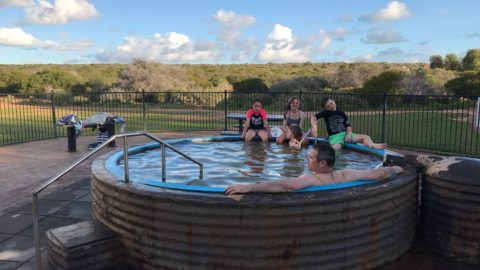 Artesian Hot Tub – Peron Homestead Precinct Denham