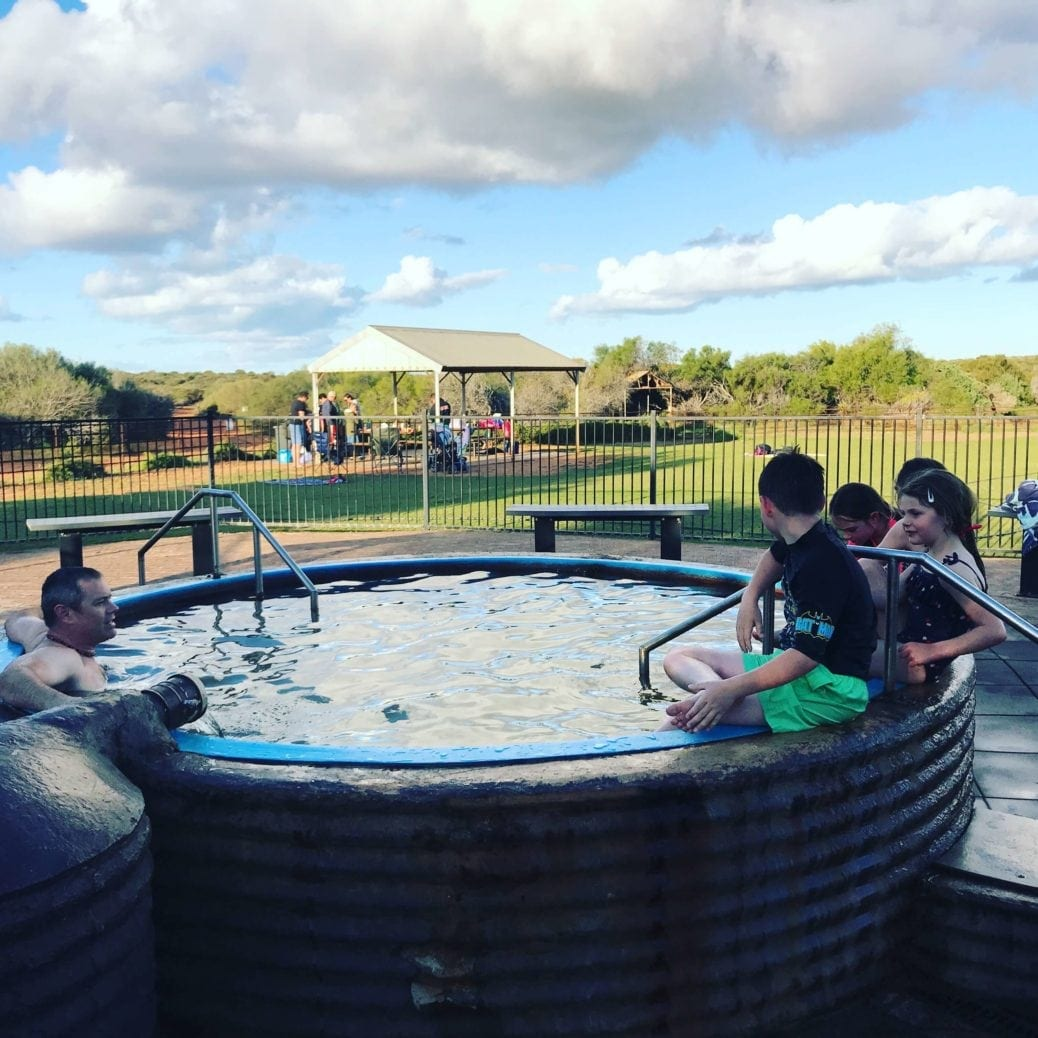 Artesian Hot Tub - Peron Homestead Precinct Denham - Buggybuddys the ...