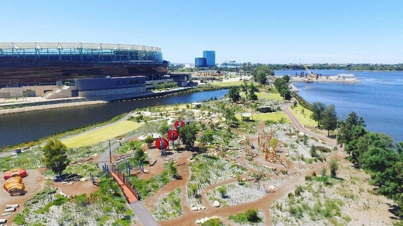 best parks in perth