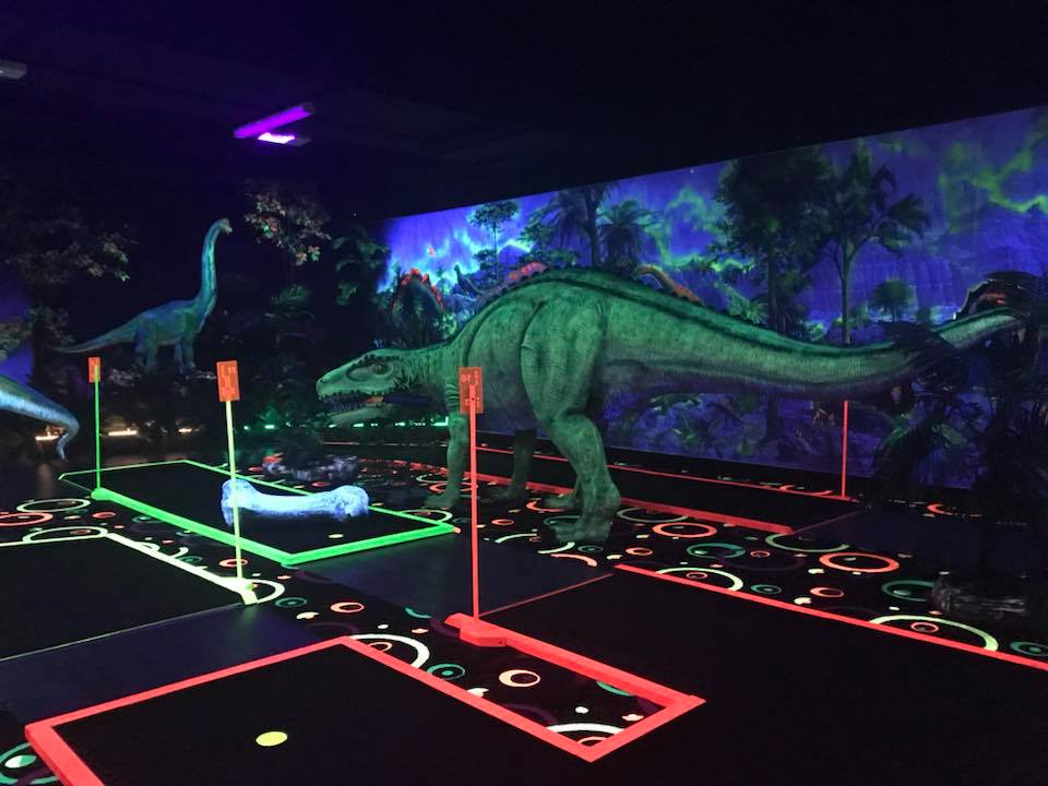 Chillisaurus Mini Golf, Merriwa
