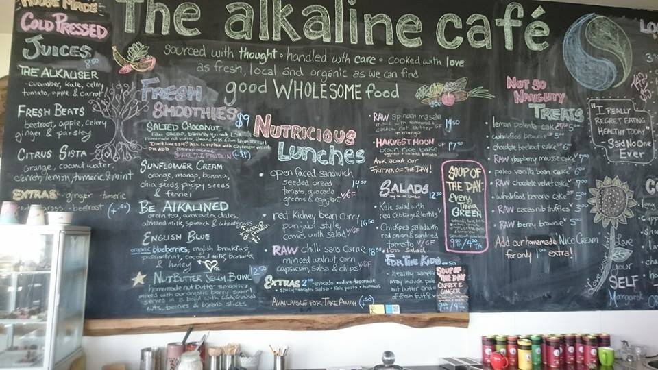 The Alkaline Cafe Albany