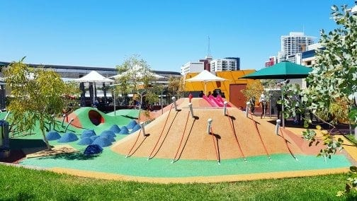 Yagan Square Playspace - review of the Yagan Square Playground