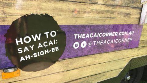 The Açai Corner, South Perth