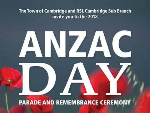 ANZAC Day Parade and Remembrance Ceremony