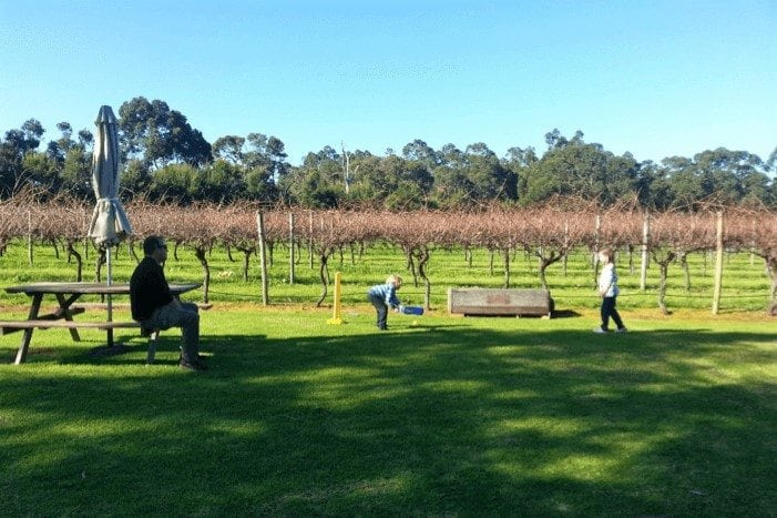 family friendly winery margaret river