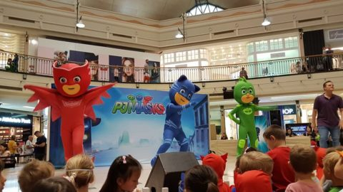 PJ Masks at Karrinyup Shopping Centre