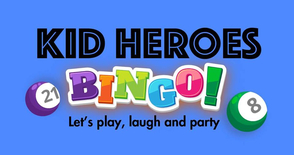 Kid Heroes Bingo