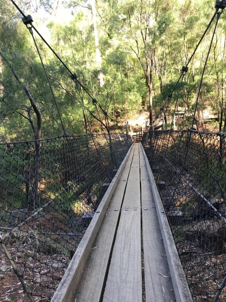 lake beedelup the wobbly bridge