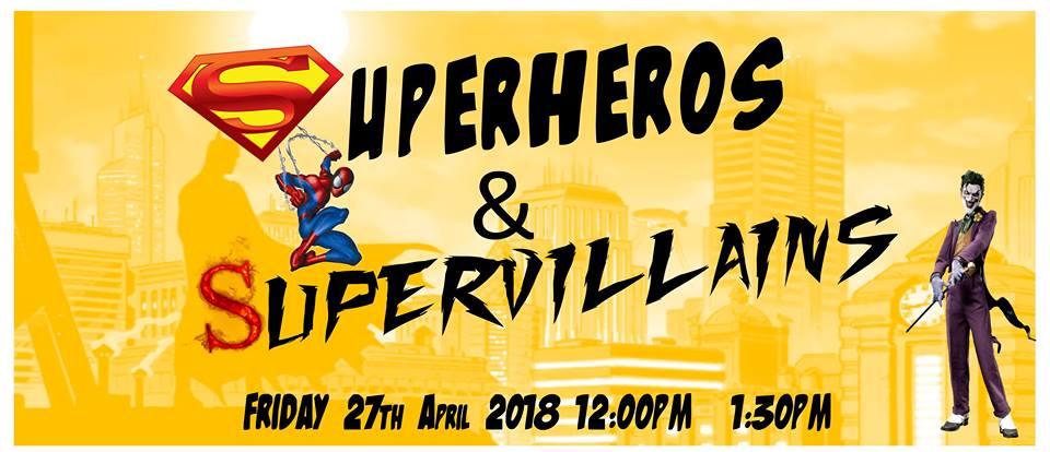 Super Hero & Super Villain Party