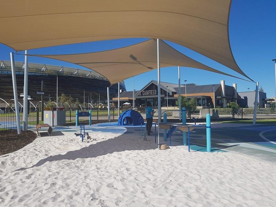 Optus Stadium Sensory Playground