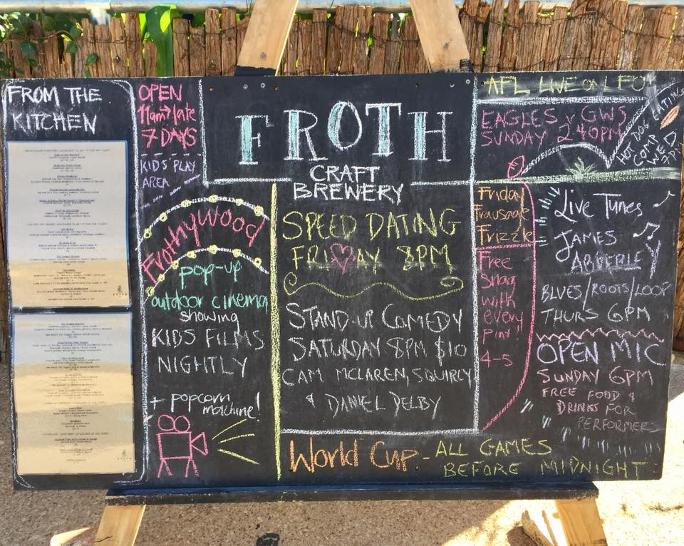 Froth Craft Brewery, Exmouth