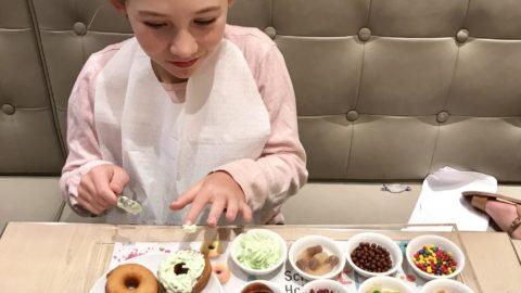 Doughnut Decorating at Epicurean Crown Perth
