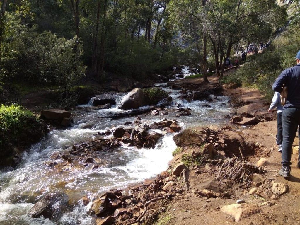 Lesmurdie Falls, Base Trail
