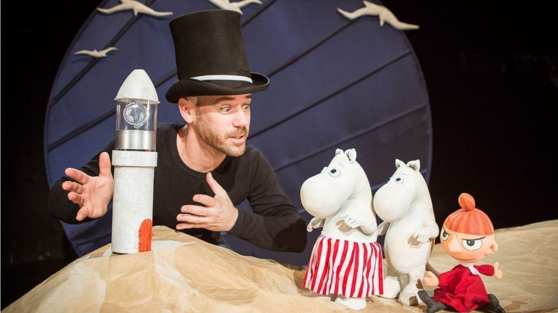 Moominpappa at Sea Puppet Theatre