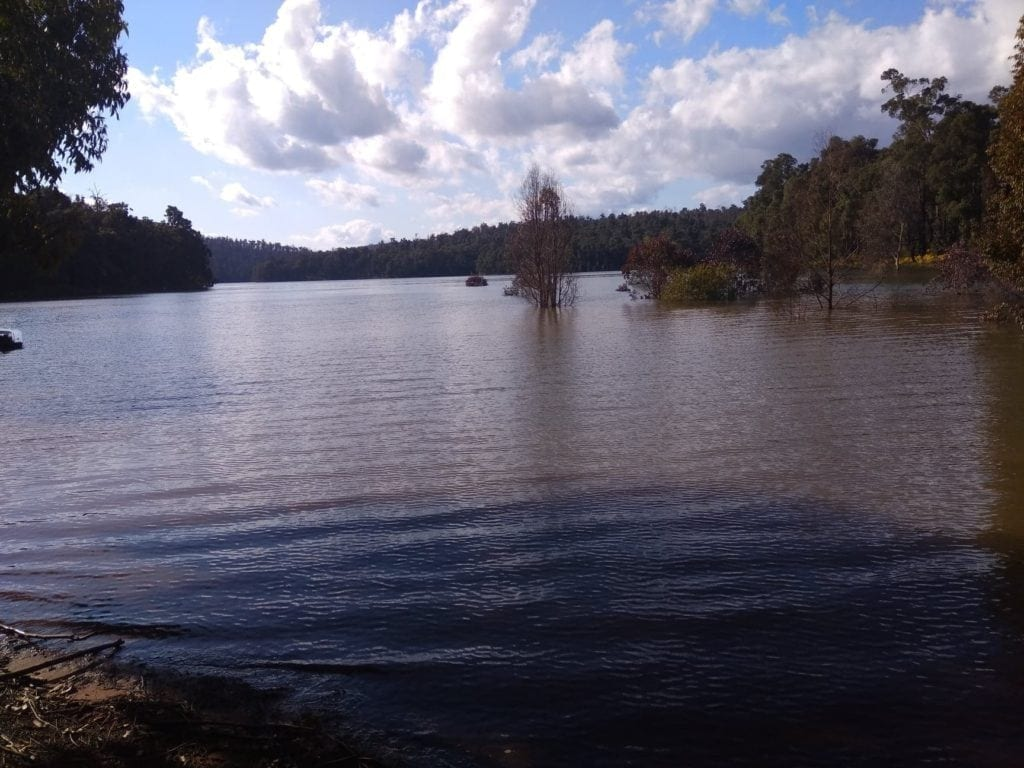 Waroona Dam, Lake Navarino