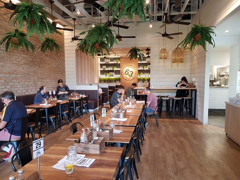 Cafe 63, Westfield Carousel