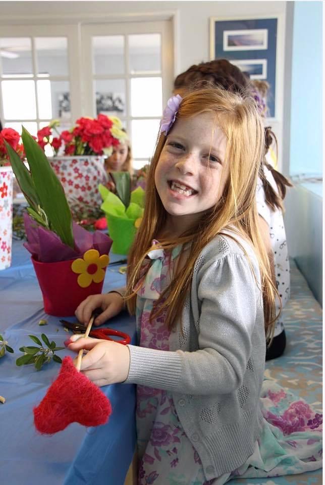 Flower Design School Birthday Party