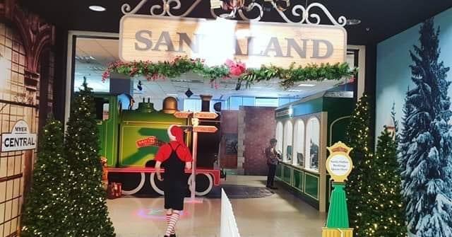Santaland myer