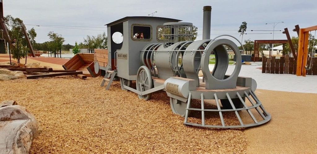 Steam Train Adventure Playground