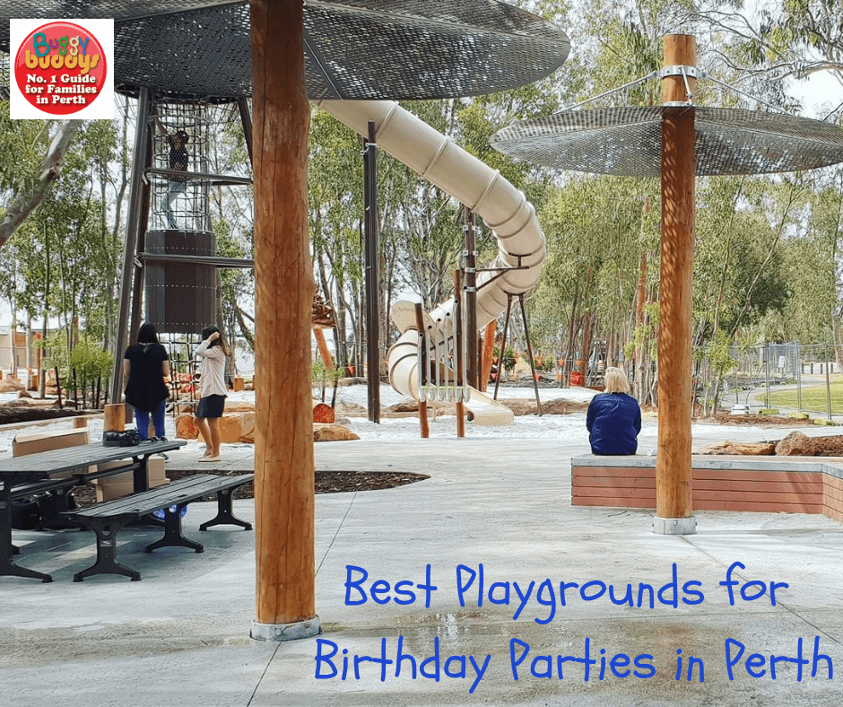Best Playgrounds for Birthday Parties
