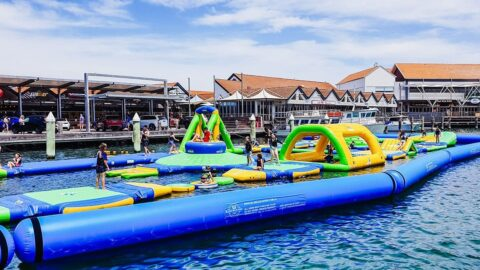 Island Aqua Park, Hillarys Boat Harbour