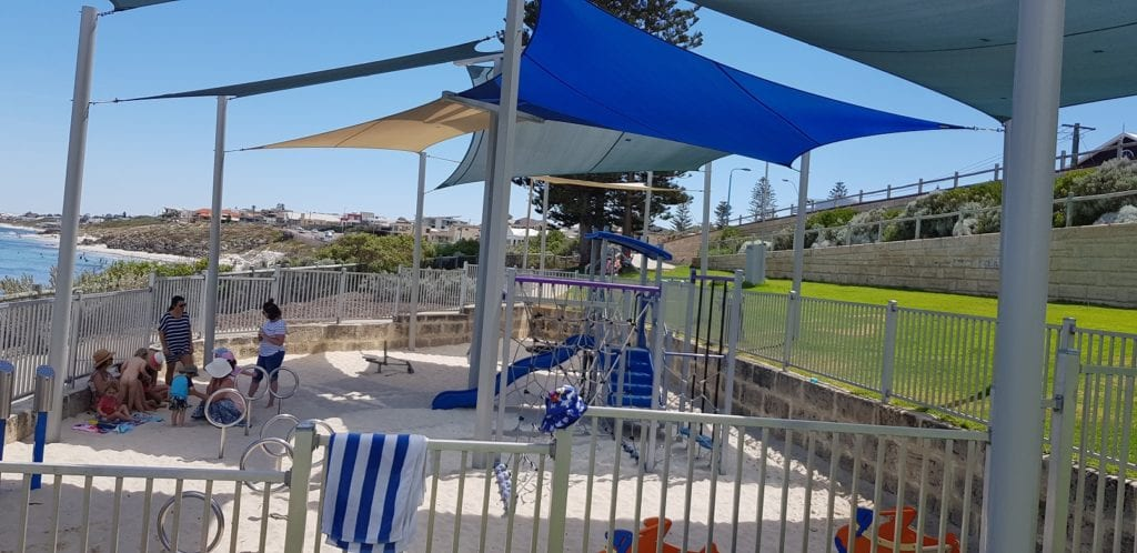 Watermans Bay Beach and Playground
