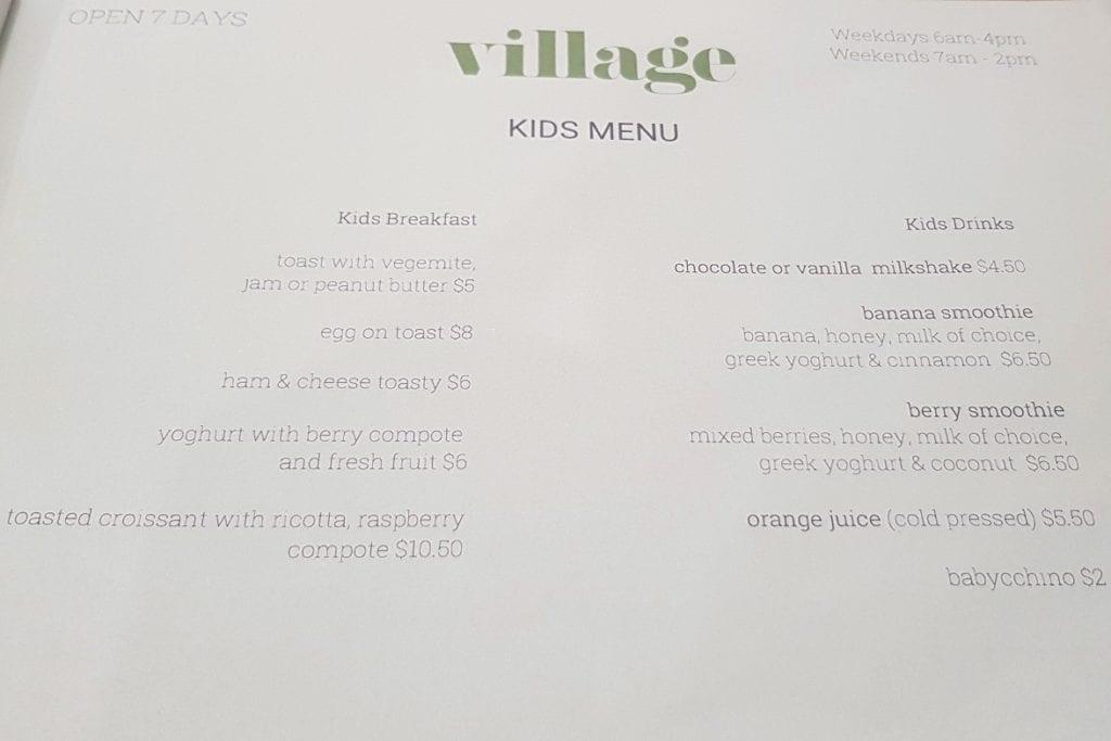 Village Coffee, Marmion