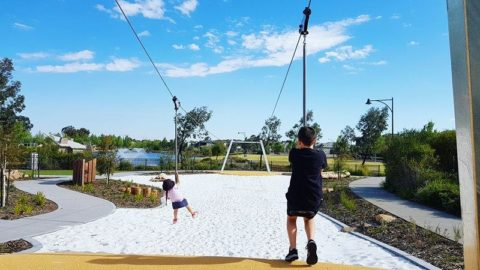 Best Playgrounds for Flying Fox Fun in Perth