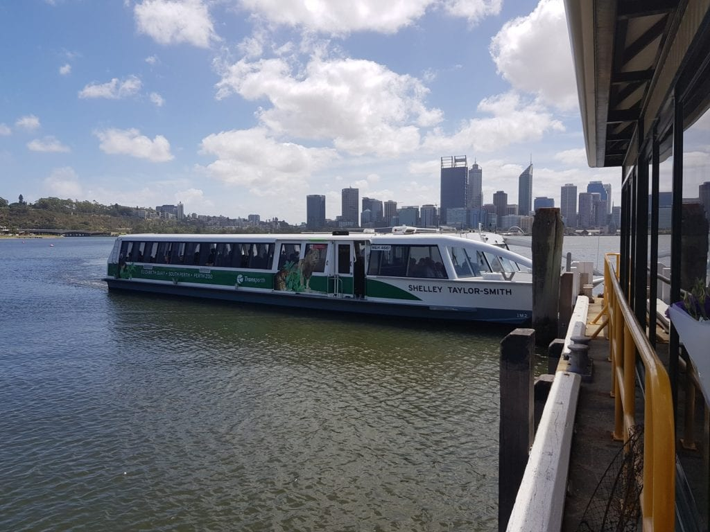 TransPerth Ferry, Swan River