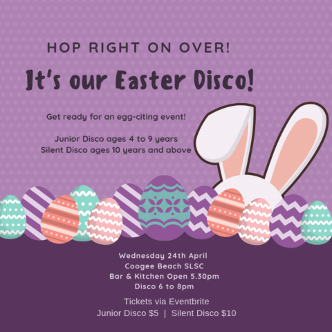 Easter Disco @ Coogee Beach SLSC