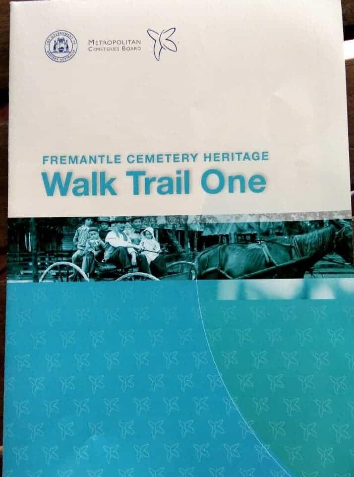 Heritage Walk Trail One, Fremantle Cemetery