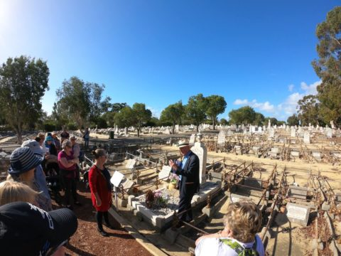 Heritage Walk Trail One, Fremantle Cemetery