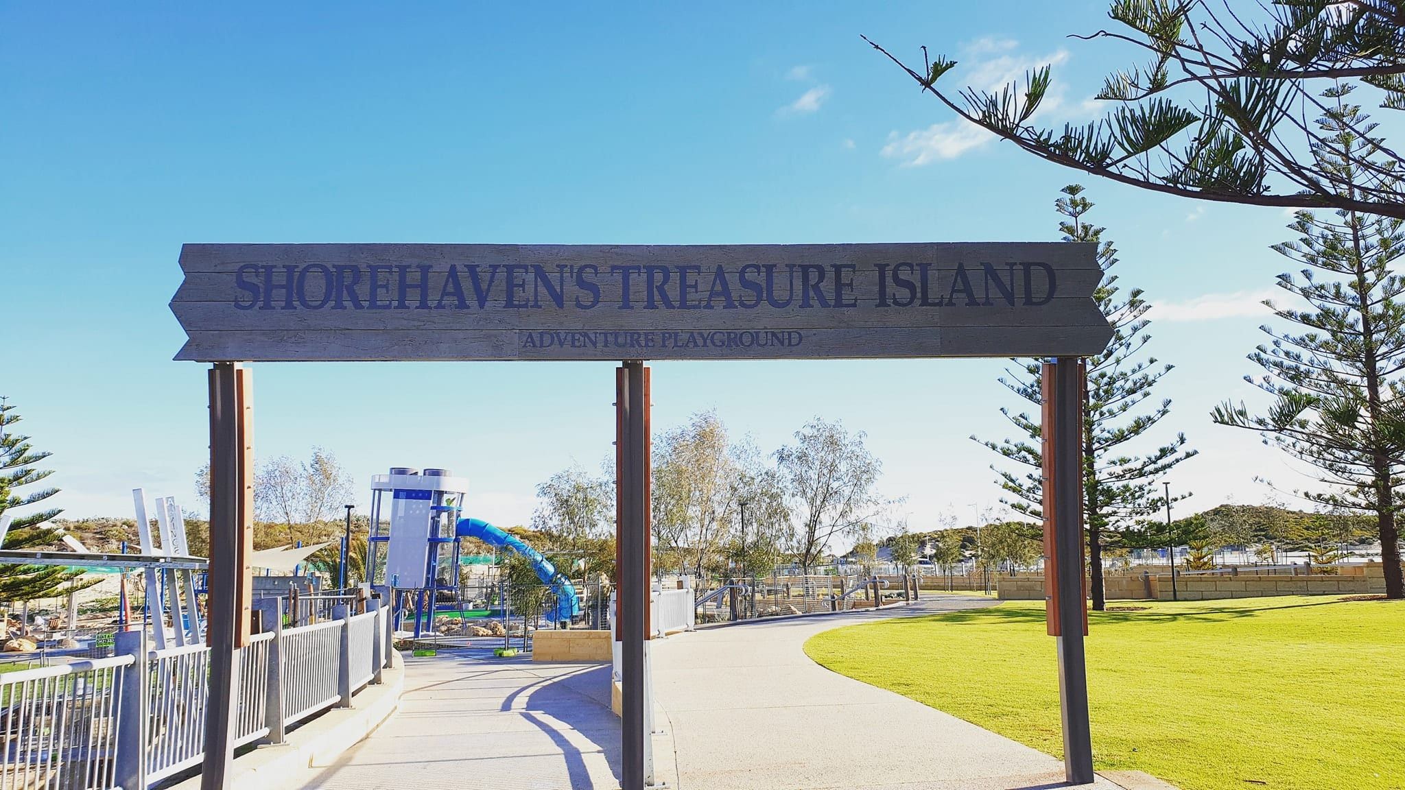 Shorehaven's Treasure Island Adventure Playground, Alkimos