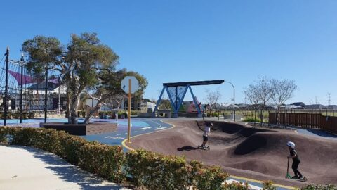 Madox Playground and Pumptrack, Forrestdale