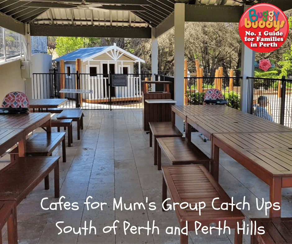 Best cafes for mums groups in Perth