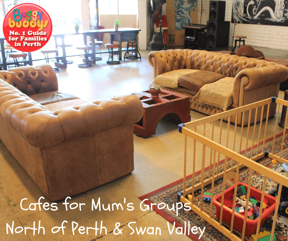 Cafes for Mums Groups North